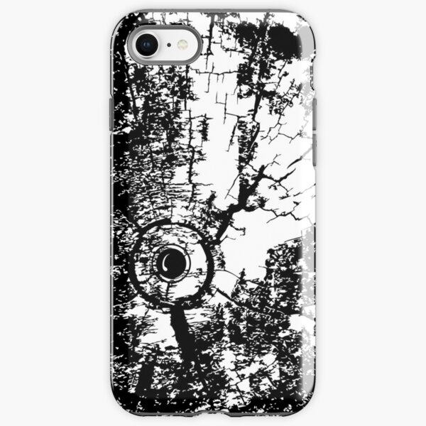 Cracked Wood Creature - Shee Texture / Pattern iPhone Tough Case
