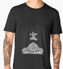 The Circus Arrives Without Warning - The Night Circus Men's Premium T-Shirt