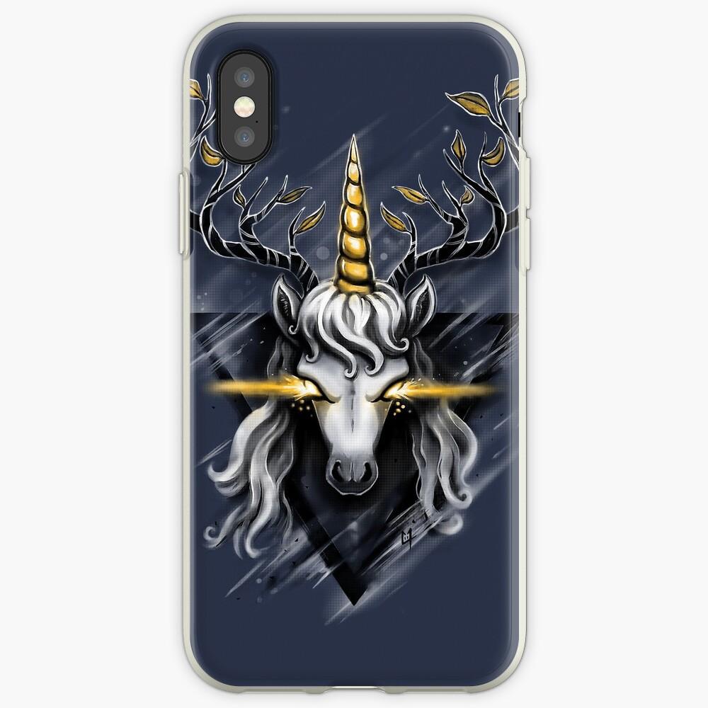 Deer Unicorn iPhone Case & Cover