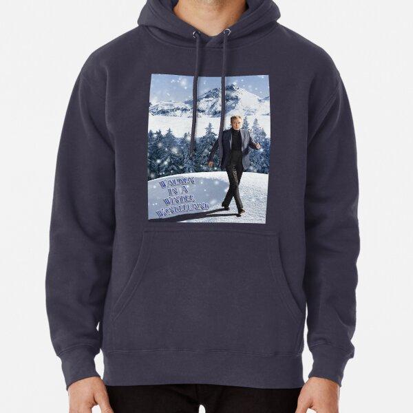 Walken In A Winter Wonderland Pullover Hoodie