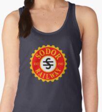 Thomas and Friends: Sodor Railway Logo Women's Tank Top