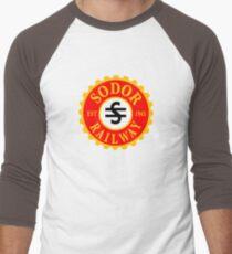 Thomas and Friends: Sodor Railway Logo Men's Baseball ¾ T-Shirt