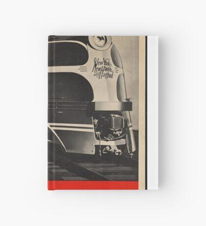Diesel Power Train Vintage Travel Advertisement Art Poster Hardcover Journal