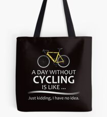 Cycling Gifts for Cyclists Tote Bag