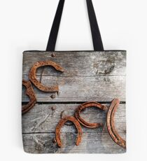 Lucky Horse Shoes Tote Bag