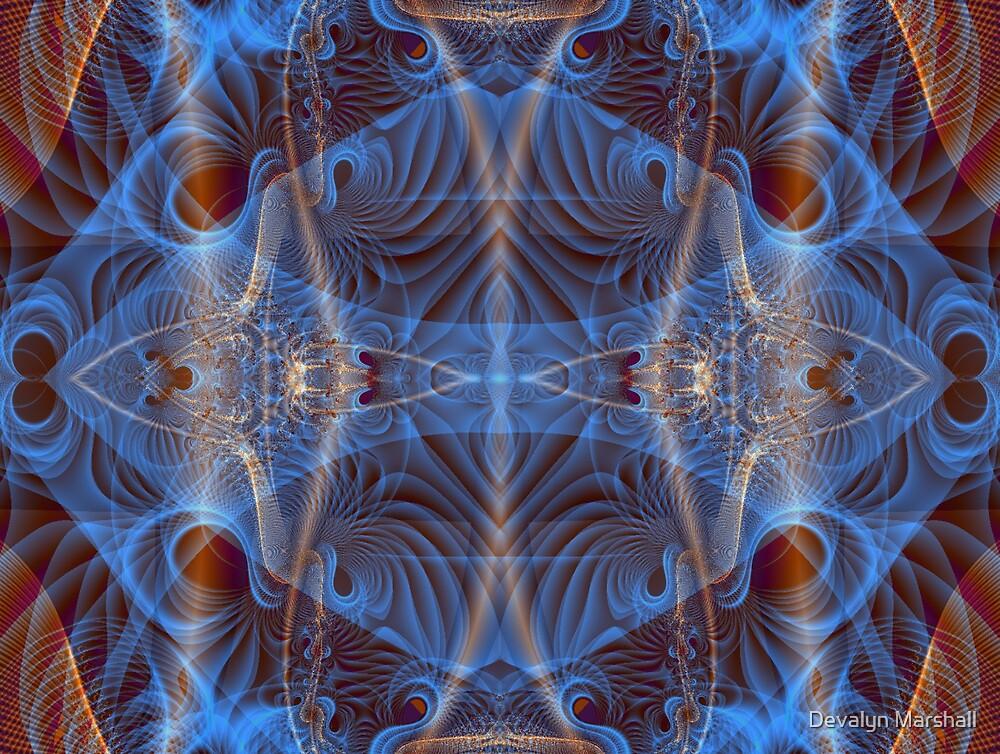 Blue Mosi-Oa-Tunya1 by Devalyn Marshall