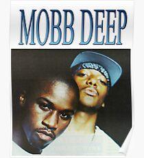 MOBB DEEP 90s HIP HOP VINTAGE RETRO DESIGN Poster