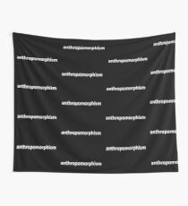 Anthro (White) Wall Tapestry