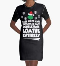 Loathe Entirely Graphic T-Shirt Dress