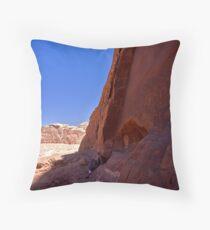 Nebetean roadsigns Throw Pillow