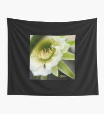 Princess of the Night - Bloom Close Up  Wall Tapestry