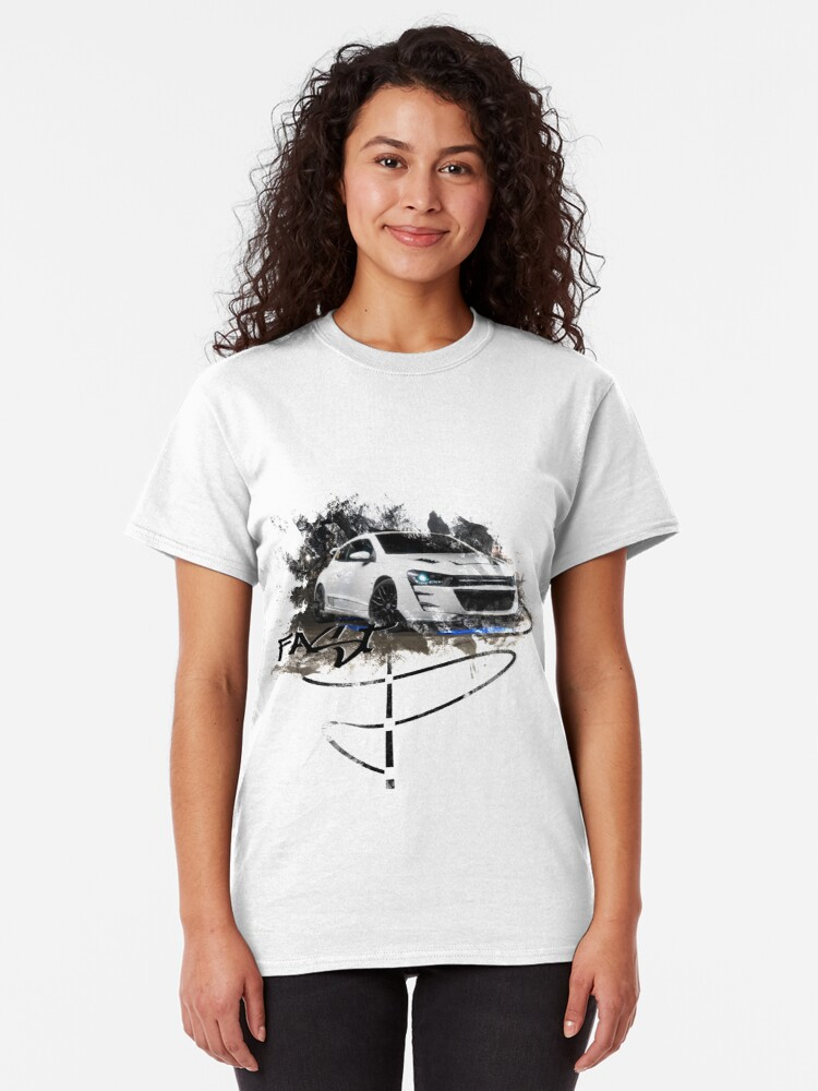 Alternate view of Exhood Tuning Car at Night 1 Classic T-Shirt
