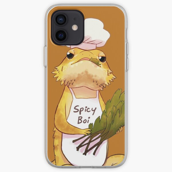 Here comes a Spicy Boy iPhone Soft Case