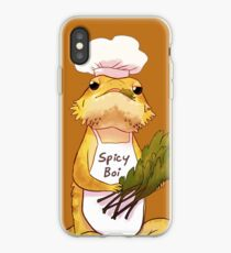 Here comes a Spicy Boy iPhone Case