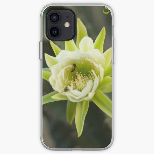 Princess of the Night - Bloom with Playful Bees iPhone Soft Case