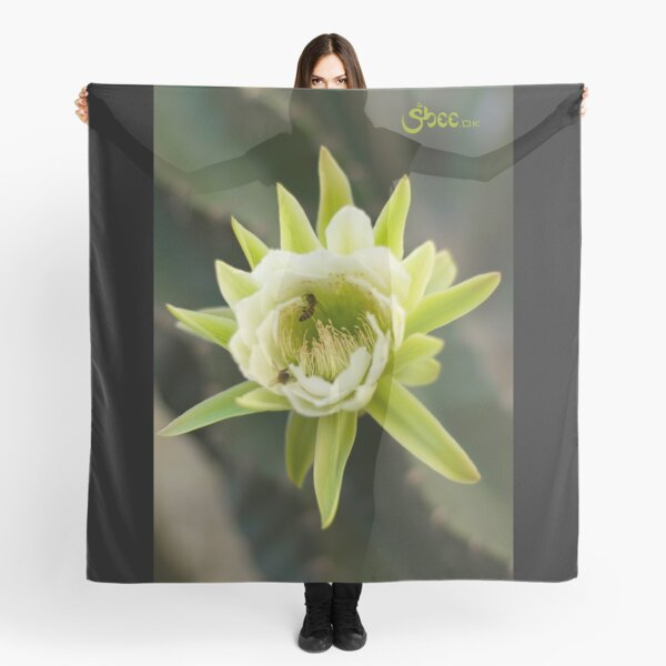 Princess of the Night - Bloom with Playful Bees Scarf