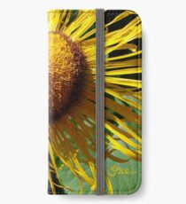 Sunflowers in Bloom - Shee Nature Photography iPhone Wallet/Case/Skin