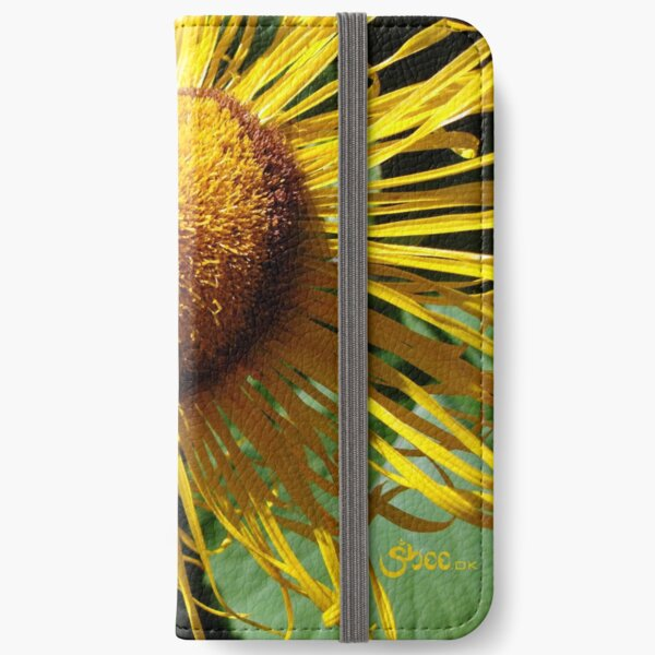 Sunflowers in Bloom - Shee Nature Photography iPhone Wallet