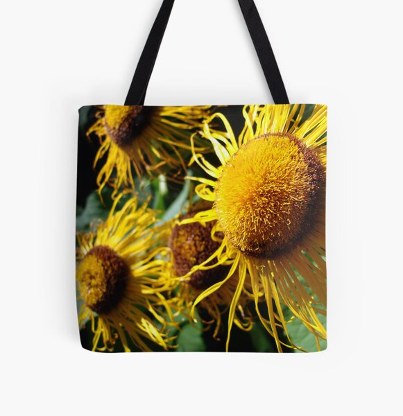 Sunflowers in Bloom - Shee Nature Photography All Over Print Tote Bag