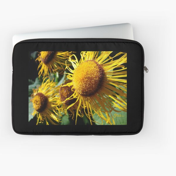 Sunflowers in Bloom - Shee Nature Photography Laptop Sleeve