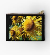 Sunflowers in Bloom - Shee Nature Photography Studio Pouch