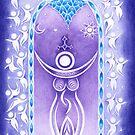 Pagan Art. Mondgöttin und Traumwelt. von Christine Krahl