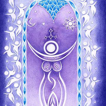 Pagan Art. Mondgöttin und Traumwelt. von ChristineKrahl