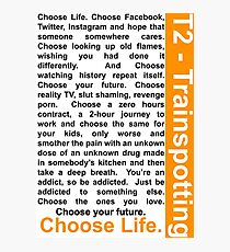 Trainspotting 2 - Choose Life Photographic Print
