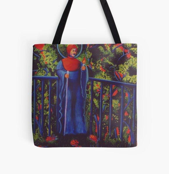 Japanese Garden All Over Print Tote Bag