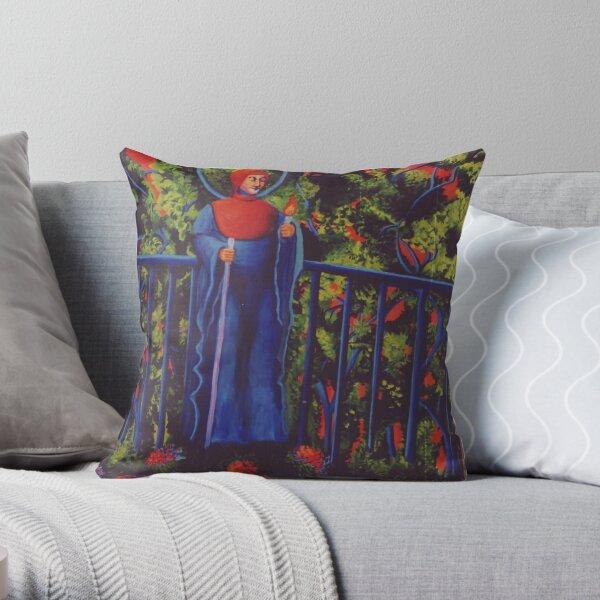 Japanese Garden Throw Pillow