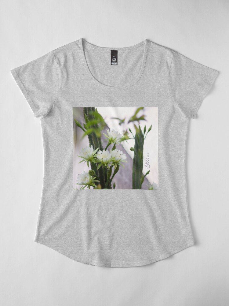 Alternate view of Princess of the Night - Blooming in Abundance Premium Scoop T-Shirt
