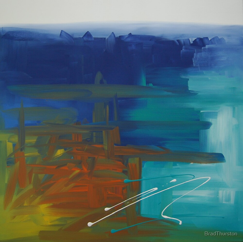 Inner Peace - Original SOLD by BradThurston