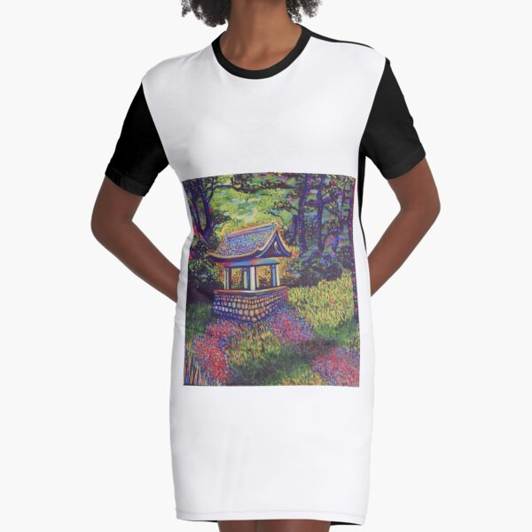 Purifying Well Graphic T-Shirt Dress