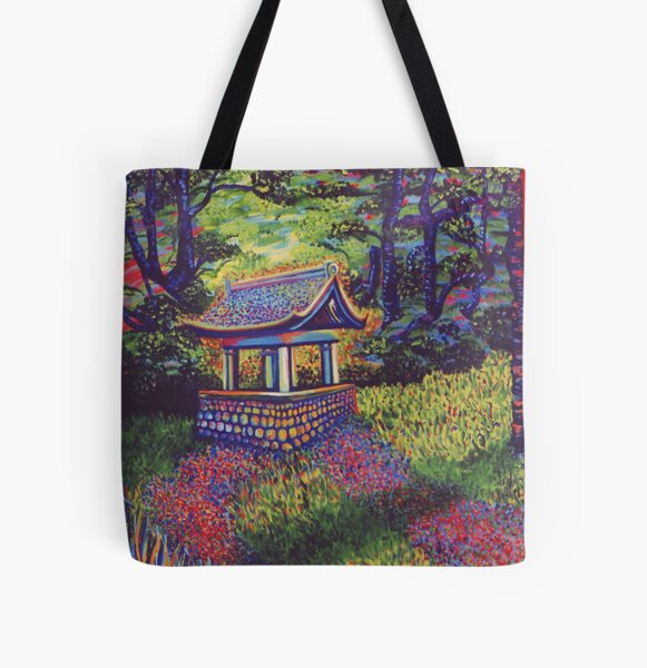 Purifying Well All Over Print Tote Bag