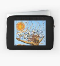 Balance of Life (cut) - Yoga Art from Shee - Surreal Worlds Laptop Sleeve