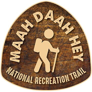 Maah Daah Hey National Recreation Trail, North Dakota by ginkgotees