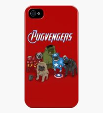 The Pugvengers iPhone 4s/4 Case