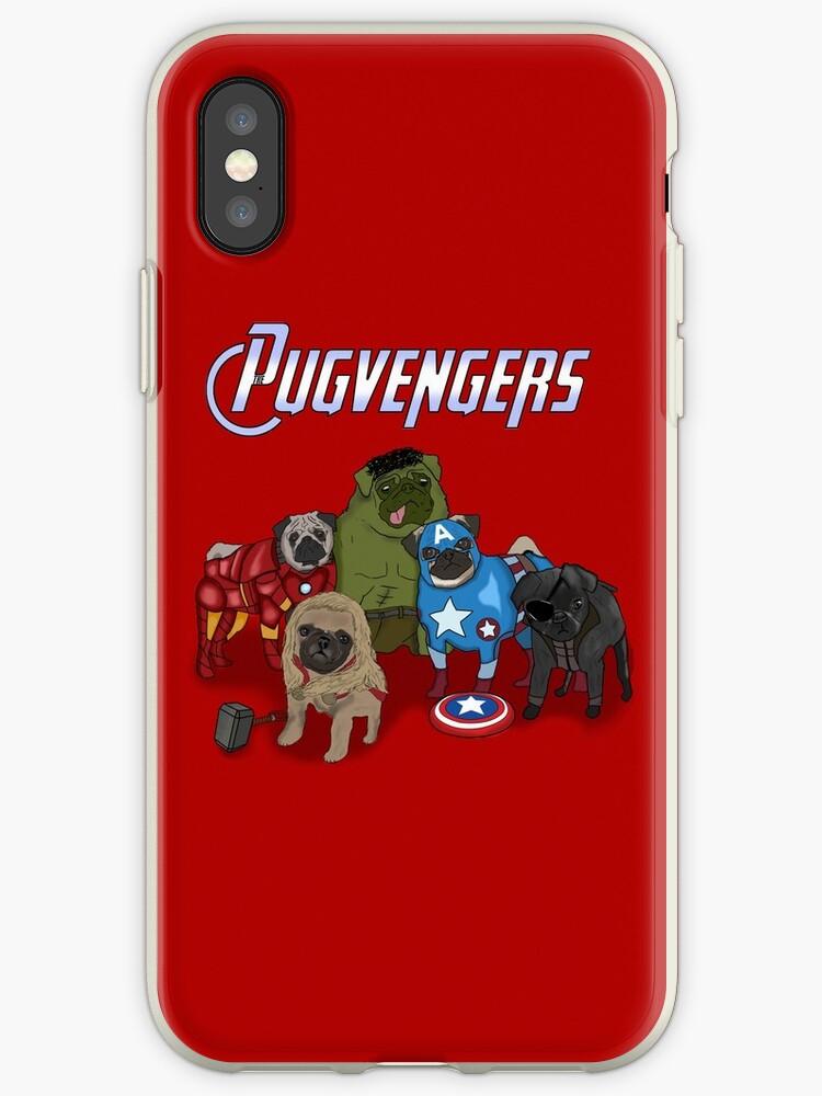«Los Pugvengers» de DanielDesigns