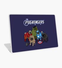 The Pugvengers Laptop Skin