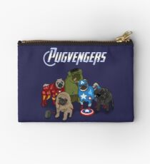 The Pugvengers Zipper Pouch