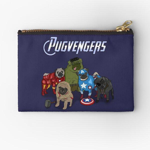 The Pugvengers Zipper Pouch