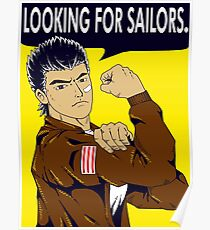Looking For Sailors Poster