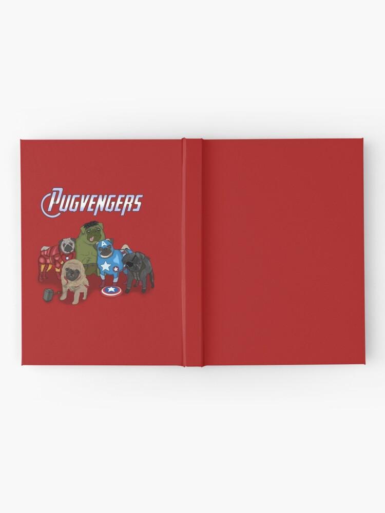 Vista alternativa de Cuaderno de tapa dura Los Pugvengers