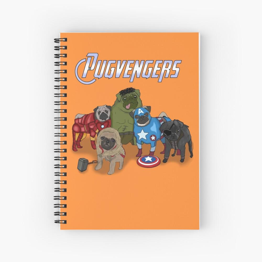 Los Pugvengers Cuaderno de espiral