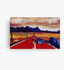 Red Road Canvas Print