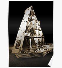 Gambling pyramid Poster