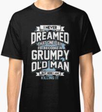 Grumpy alter Mann Classic T-Shirt
