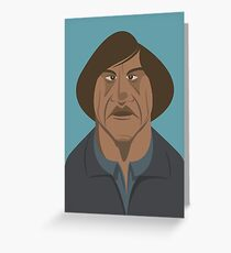 No Country for Old Men Greeting Card