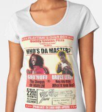 Sho'nuff vs Bruce Leroy Women's Premium T-Shirt