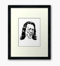 Tommy Wiseau The Room Framed Print